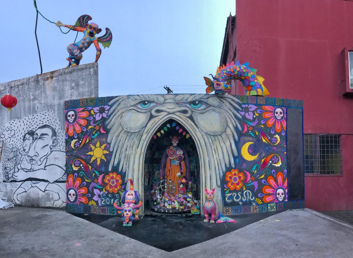 Santa Muerte Art District Bacolod